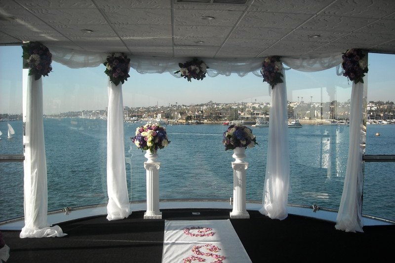 Sacramento yacht wedding