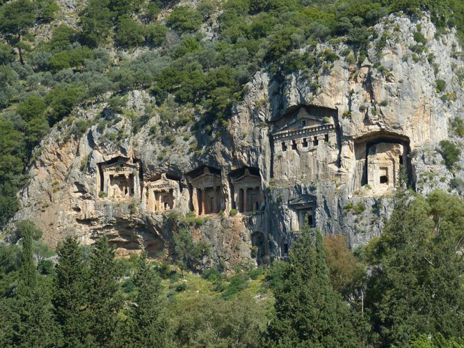 lycia-tombs-marmaris-turkey