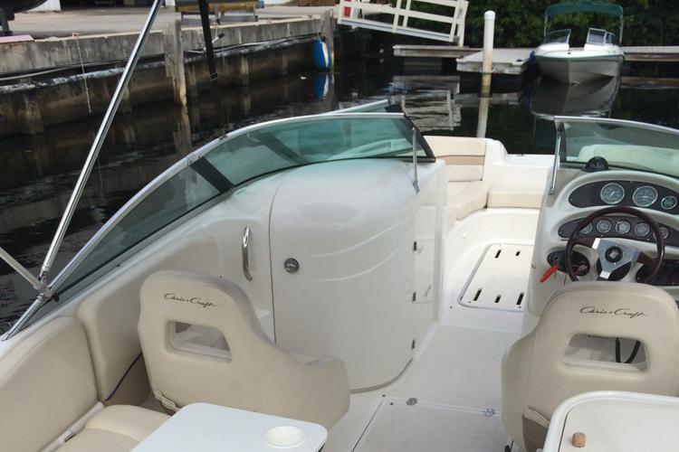 Deck boat boat rental in Harbour Towne Marina, FL