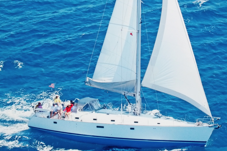Sail and fish the Palm Beaches on this beautiful Beneteau!