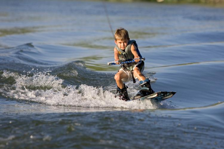 Ski and wakeboard boat rental in Miami Beach Marina, FL
