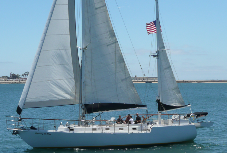 Sail the Bay on our big beautiful boat!