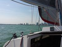 Hunter 28 - Amazing sailing on Biscayne Bay and Miami Beach