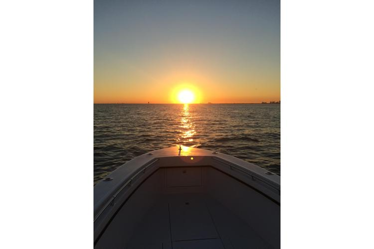 Center console boat for rent in Key Biscayne