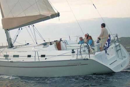 43.0 feet Beneteau in great shape