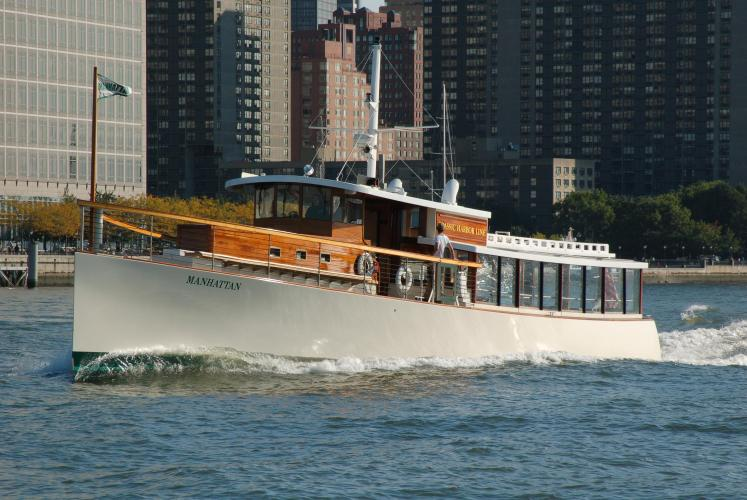 Up to 65 persons can enjoy a ride on this Classic boat