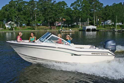 Boating is fun with a Dual console in Hampton Bays