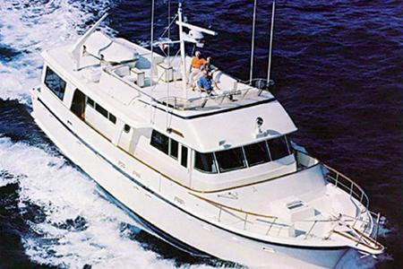 Spacious yacht uniquely suited for extended stays