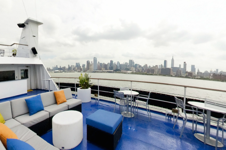 Mega yacht boat for rent in New York