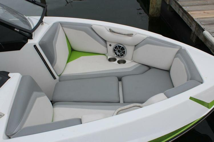 Discover Sag Harbor surroundings on this Several Models Moomba boat