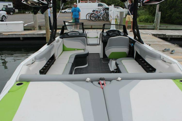 Boating is fun with a Ski and wakeboard in Sag Harbor