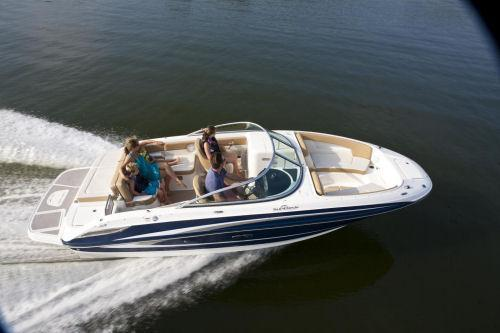 Relax, Swim, and Cruise the Sound on this Sundeck 24