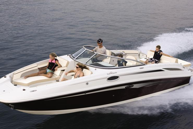 Cruise the Sound in Comfort and Style on this Sundeck 27