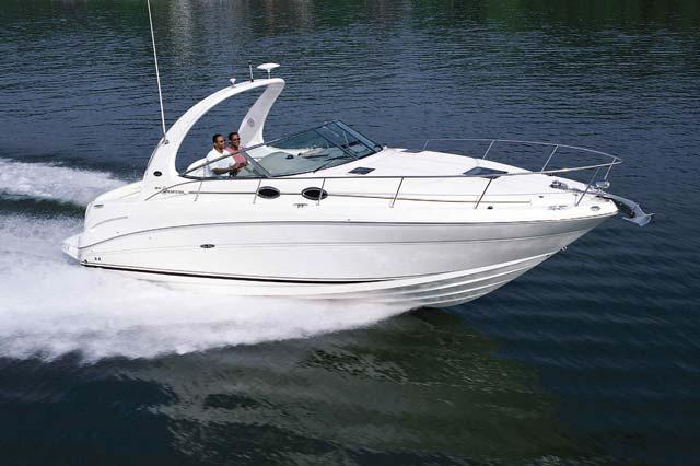 Cruise the Sound on this Sporty Sea Ray