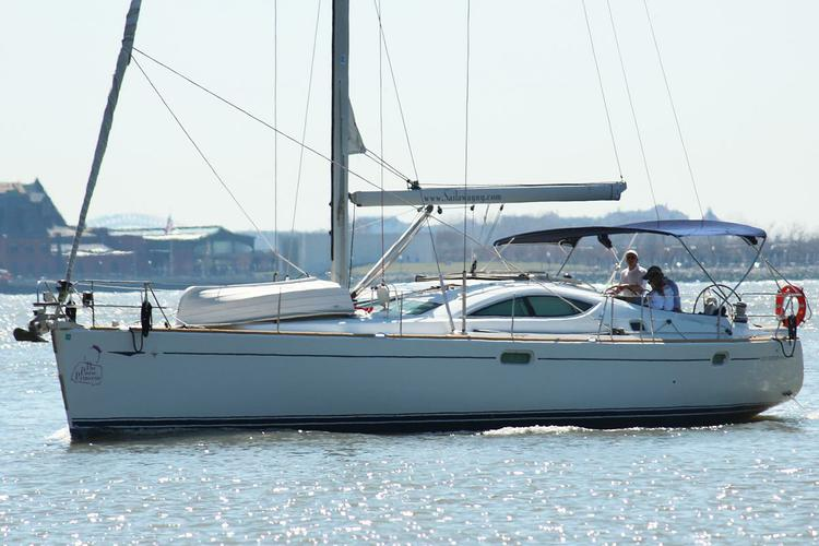 Jeanneau's 49.0 feet in Jersey City