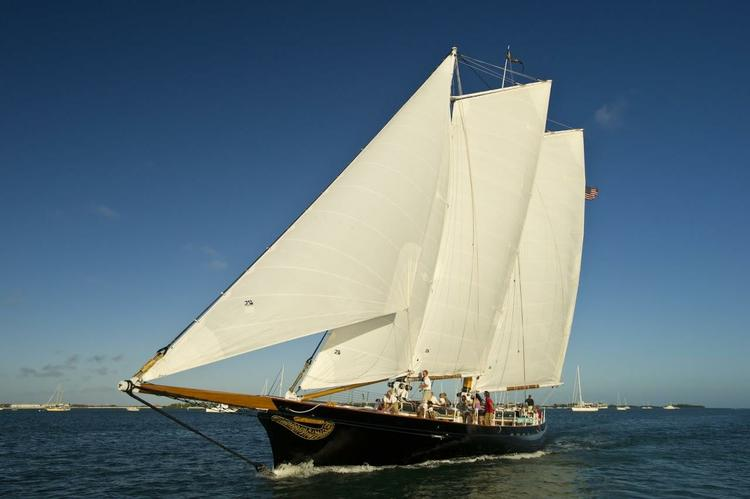 Schooner's 105.0 feet in New York