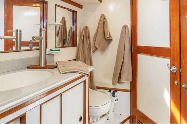 Discover Provincetown surroundings on this 47 Stevens boat