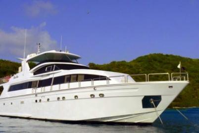 Luxury mega yacht refit in 2012