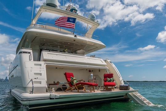 Motor yacht boat rental in Palm Bay Club & Marina, FL