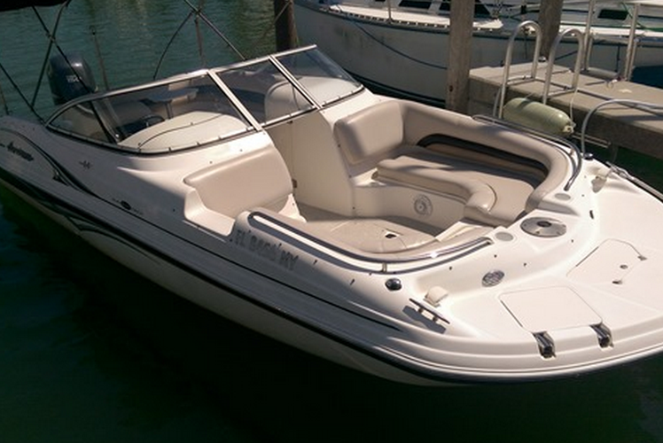 Ski and wakeboard boat for rent in Palm Bay