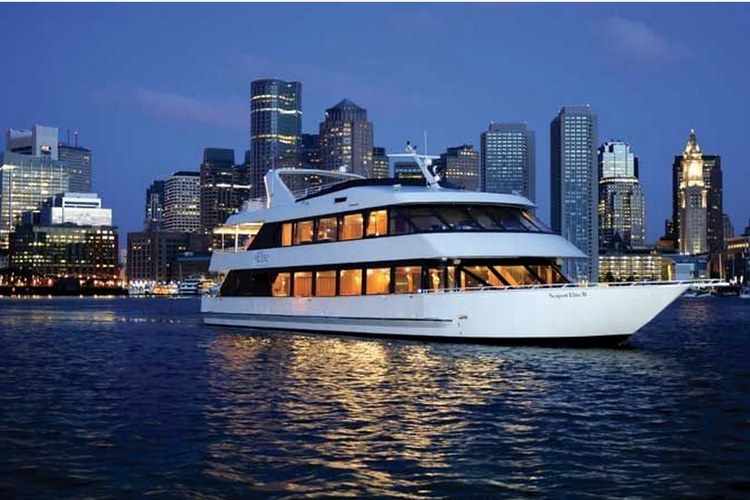 This Luxury Mega Yacht is perfect for groups of 50-150 guests!