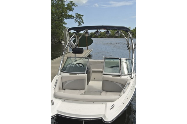 Ski and wakeboard boat rental in Pelican Harbor Marina, FL