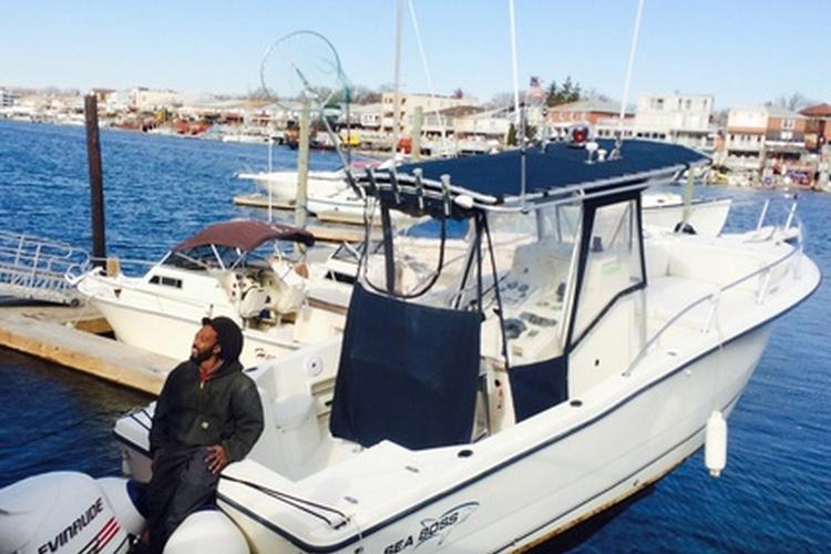 25.0 feet Sea Boss in great shape