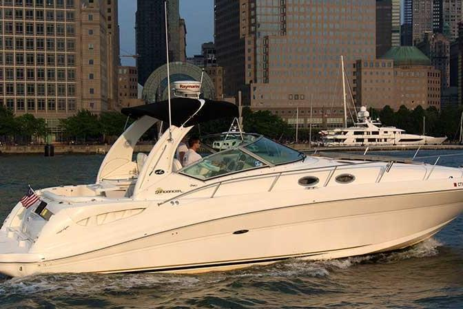 Boating is fun with a Sea Ray in Jersey City