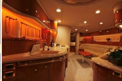 This 54.0' Searay cand take up to 12 passengers around Miami Beach