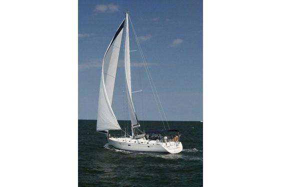 This 50.0' Beneteau 50 cand take up to 6 passengers around Greenport