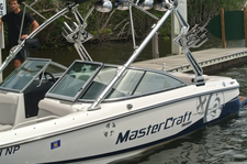 This 20' MasterCraft comes with a captain and instructor!