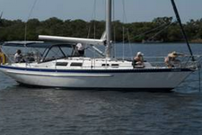 Get ready for a fun adventure aboard a classic 35' Columbia Sail