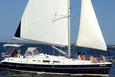 Relax on this 44' Hunter Sloop and enjoy the NJ coastline!