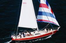 Enjoy the Newport Harbor and Narragansett Bay on this 46' Cutter