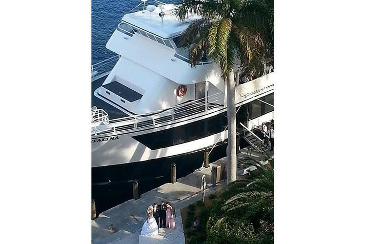 Discover Miami surroundings on this Party Yacht Custom boat