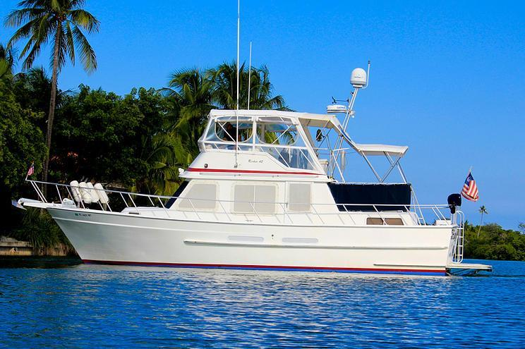 Classic Trawler perfect for the Miami waters