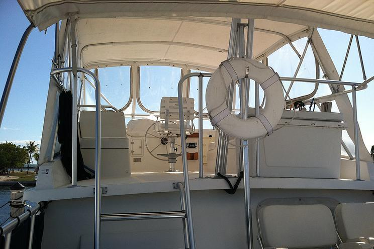 Discover Miami surroundings on this N/A N/A boat