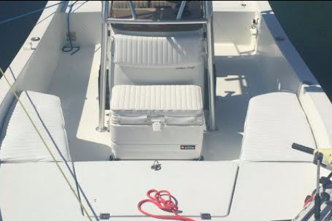 Center console boat rental in Whale Harbor Marina, FL