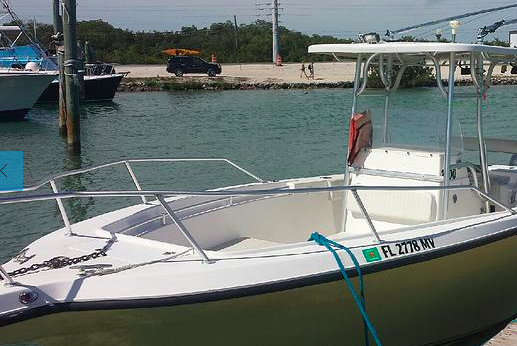 Center console boat for rent in Islamorada