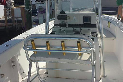 Up to 12 persons can enjoy a ride on this Center console boat