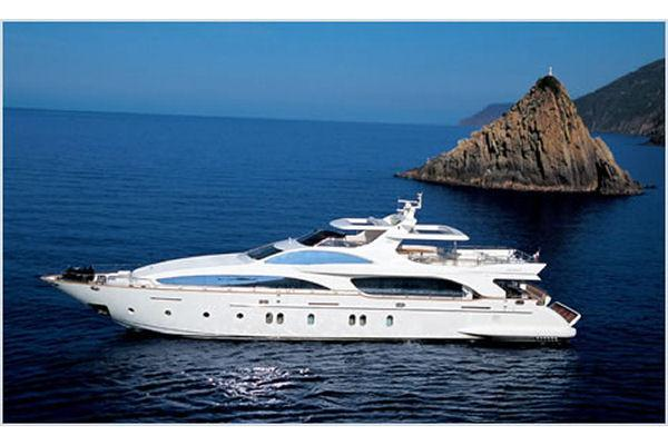116.0 feet Azimut  in great shape