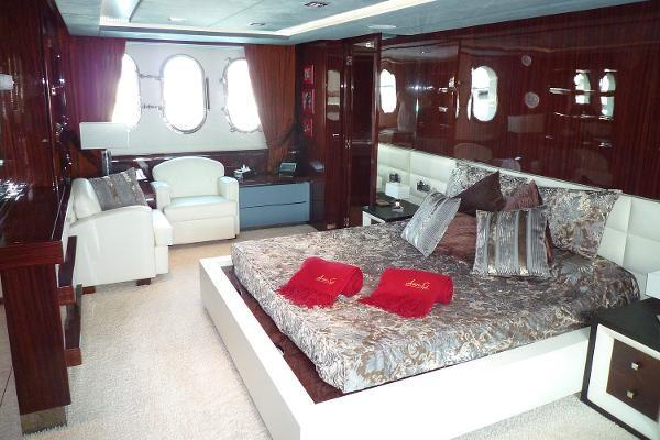 Mega yacht boat rental in Miami Beach Marina, FL