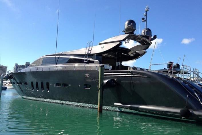 Motor yacht boat rental in Miami Beach Marina, FL
