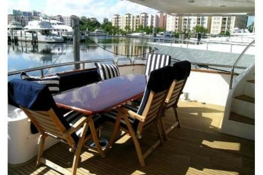 Motor yacht boat rental in Miami Beach Marina, FL
