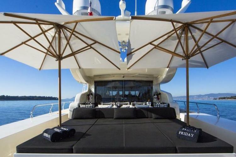 Mega yacht boat rental in Miami Beach Marina, FL