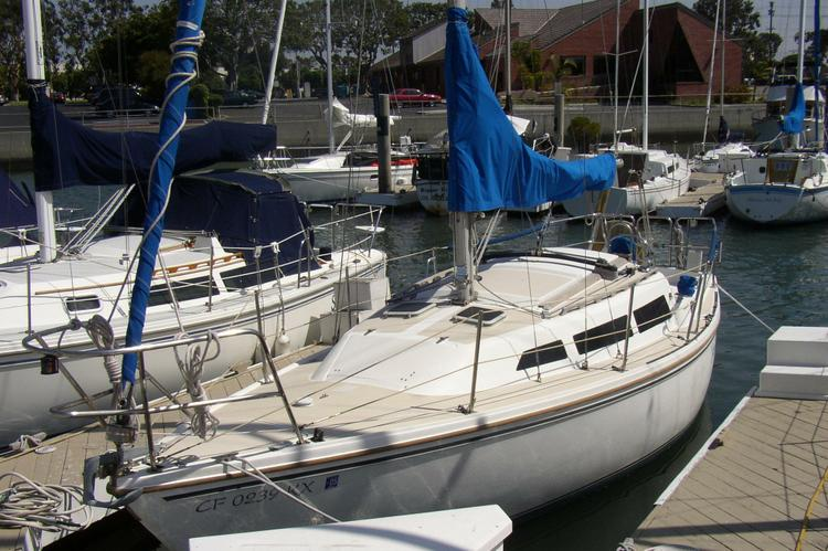Enjoy a ride out on this Catalina sailboat