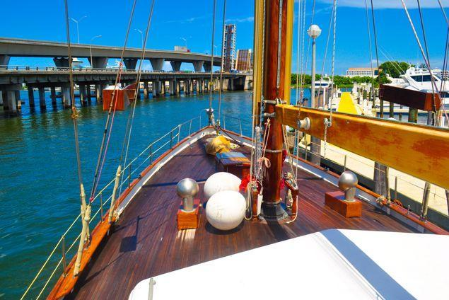 Ketch boat rental in Miami Beach Marina, FL