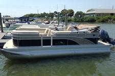 Beautiful pontoon for a fun day
