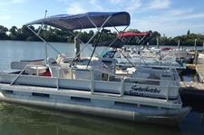 Come out on this fun and spacious pontoon