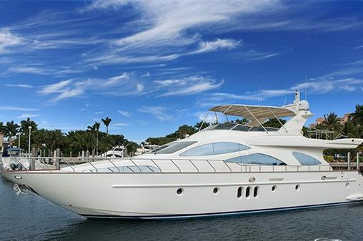 The finest eighty foot Azimut!